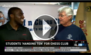 Surf N Chess on TV Video